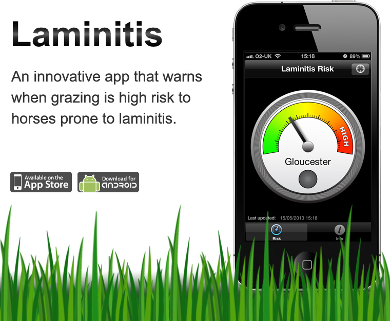 Laminitis iPhone and Android App